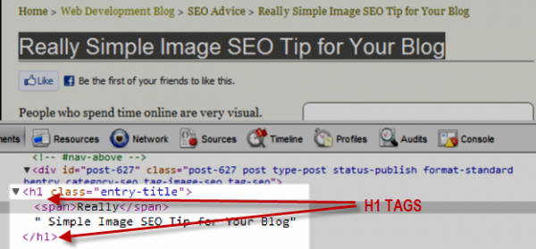 how to optimize a blog post title